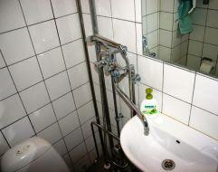 Typical Copenhagen bathroom