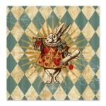 alice_white_rabbit_vintage_shower_curtain
