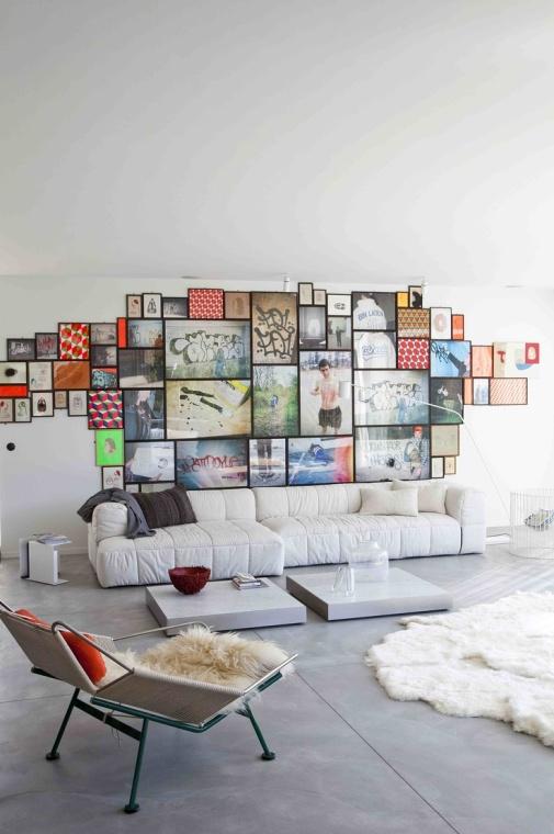 Billedvaeg home decor stue livingroom indretning frame billeder ...