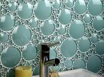 Bubble-Tile-Backsplash-With-Style-Faucet