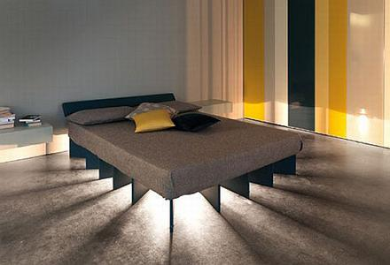 Beam Bed by Lago