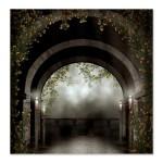 gothic_arch_balcony_shower_curtain