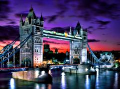 Photo: http://fineartamerica.com/featured/london-evening-at-tower-bridge-dean-wittle.html