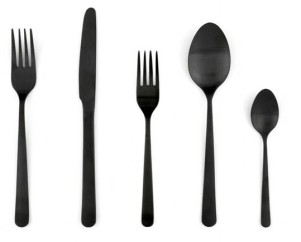 Photo: http://www.dwr.com/product/almoco-flatware-black-matte-5-piece-setting.do?utm_source=affiliate&utm_medium=affiliate&prfrm=1&cmp=AFC-GB9049936277&utm_content=NO&utm_campaign=Almoco%20Black%20Flatware