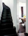 glassy black stairs via theglamourai