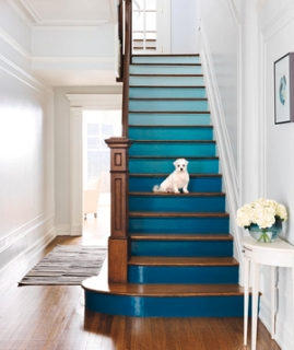 Photo: http://www.realsimple.com/home-organizing/decorating/staircase-ideas-00100000096774/