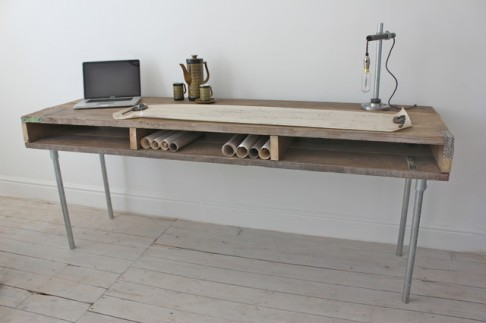 http://www.houzz.com/photos/4888026/Reclaimed-Scaffolding-Board-Industrial-Chic-Extra-Long-Desk-with-Built-In-Storag-contemporary-desks-manchester-UK