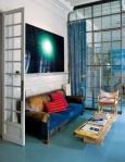 Industrial room divider