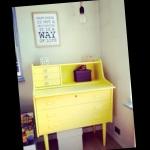 DIY yellow home
