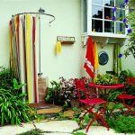 garden shower wcurtain