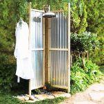 Zink DIY shower