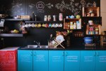 Happy chalkboard kitchen